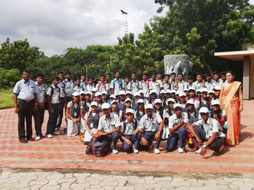 Students of class std 11 and 12 (BIOLOGY GROUP) of Alagappa schools visited Adyar Eco Park for field trip on 19.11.2019 (TUESDAY). It was an excellent learning of Ecosystem and Biosphere reserve. Nearly 60 students and 2 staff of Alagappa schools benefited from the project work based field trip to Adyar.